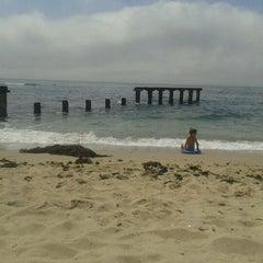 Photo taken at Playa Los Tubos by Bárbara Elke S. on 2/13/2012
