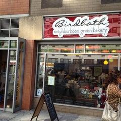 Photo taken at Birdbath Neighborhood Green Bakery by Lucinda D. on 6/14/2012