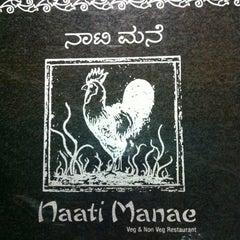 Photo taken at Naati Mane by Nikhil K. on 7/15/2012