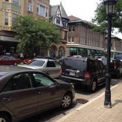Photo taken at Downtown Oak Park by Sherry H. on 6/23/2012
