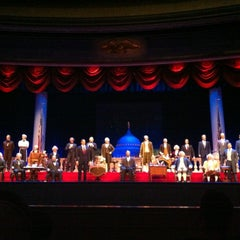 Photo taken at The Hall Of Presidents by Johnny P. on 6/11/2012