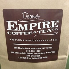 Photo taken at Empire Coffee & Tea by George H. on 7/25/2012