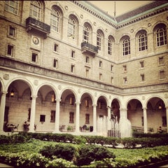 Photo taken at Boston Public Library by Aline M. on 8/28/2012