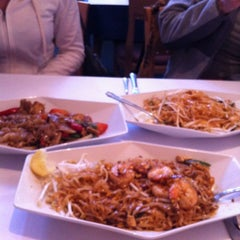 Photo taken at Thai Thai II by Nancy O. on 3/27/2012