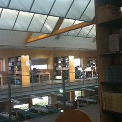 Photo taken at Biblioteca Francisco De Vitoria by Sara d. on 3/13/2012