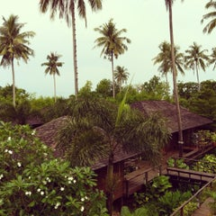 Photo taken at Gajapuri Resort and Spa Koh Chang by Bart on 5/8/2012