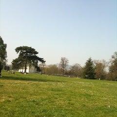 Photo taken at Parc de Bagatelle by Léonor d. on 3/25/2012