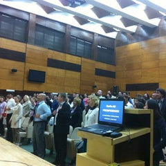 Photo taken at Universitatea de Vest by Codruta N. on 5/8/2012