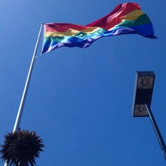 Photo taken at MUNI Bus Stop - Castro & 17th by Chris 'Marshall' M. on 5/4/2012
