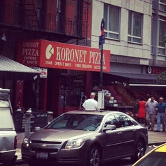 Photo taken at Koronet Pizza by Michael C. on 7/31/2012