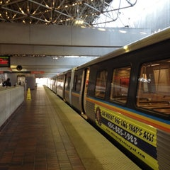 Photo taken at MARTA - Airport Station by Thao N. on 5/10/2012