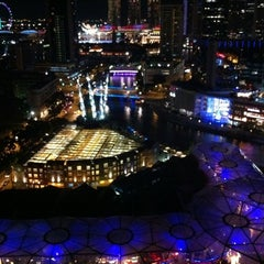 Photo taken at Novotel Clarke Quay by Phylicia on 12/31/2010