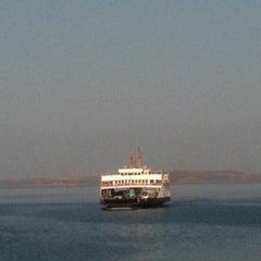 Photo taken at Geyikli Feribot İskelesi by Nuran E. on 7/20/2011