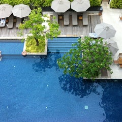 Photo taken at Woodlands Suites Serviced Residences Pattaya by Brian D. on 8/1/2012