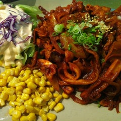 Photo taken at Kim Ga Nae by Puu K. on 3/26/2012
