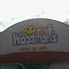 Photo taken at Woodman's Food Market by Nick L. on 7/21/2011