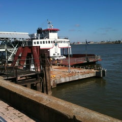 Photo taken at The Canal Street Ferry by Mayte O. on 11/23/2011