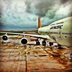 Photo taken at Nadi International Airport (NAN) by DJ L. on 2/1/2012