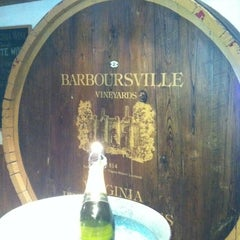Photo taken at Barboursville Vineyards by Kim R. on 3/4/2012