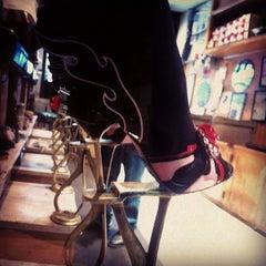 Photo taken at Jim's Shoe Repair by Bergdorf Goodman on 4/24/2012