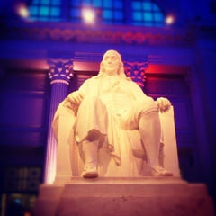 Photo taken at The Franklin Institute by Brandon G. on 6/15/2012