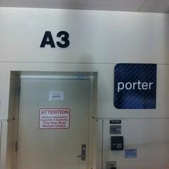 Photo taken at Gate A3 by Benoit L. on 9/5/2011