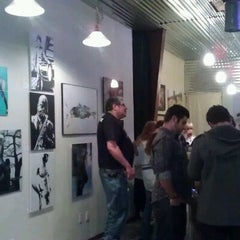 Photo taken at Heights Art Gallery by Gretchen L. on 3/4/2012