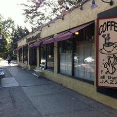 Photo taken at Coffee and All That Jazz by Victoria M. on 5/24/2012