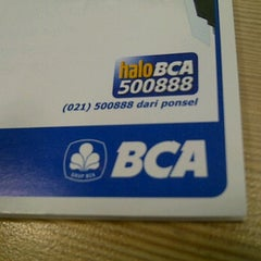 Photo taken at Bank Central Asia (BCA) by Indri K. on 10/27/2011