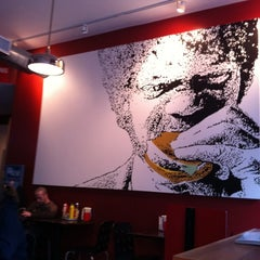 Photo taken at Tasty Burger by julissa j. on 4/1/2011