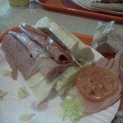 Photo taken at Sack O' Subs by Allison M. on 3/26/2012