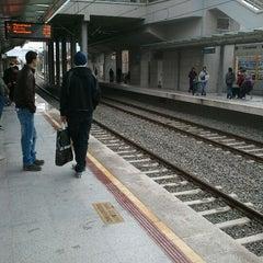 Photo taken at İzban Bayraklı İstasyonu by Engin Ç. on 12/22/2011