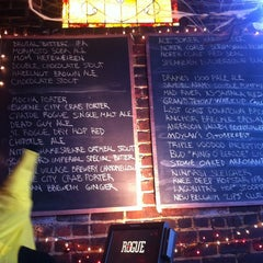Photo taken at Rogue Ales Public House by Dana B. on 10/30/2011