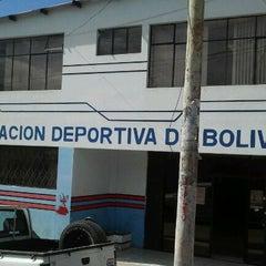 Photo taken at Federación Deportiva de Bolívar by Renato D. on 10/28/2011