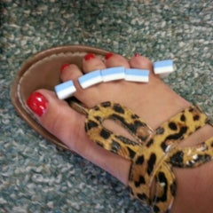 Photo taken at LA Nails by Mary Jane S. on 8/22/2012
