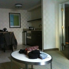 Photo taken at Hampton Inn and Suites Chicago by Enrique F. on 12/29/2011
