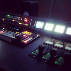 Photo taken at TV da Igreja Universal by Dante D. on 5/14/2012
