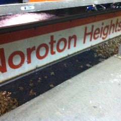 Photo taken at Metro North - Noroton Heights Train Station by Kendra P. on 11/22/2011