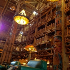 Photo taken at Disney's Wilderness Lodge by Blake P. on 1/25/2012
