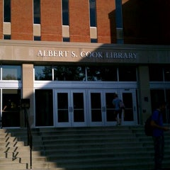 Photo taken at Albert S. Cook Library by Andrew R. on 9/29/2011