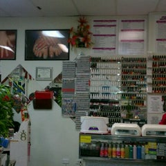 Photo taken at Judy's Nail Salon by Kirsten W. on 11/8/2011