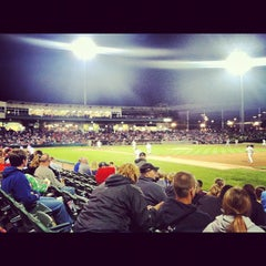Photo taken at Dozer Park by Bobby M. on 5/13/2012