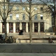 Photo taken at Le Café du Théâtre TNS by Francis G. on 1/24/2012