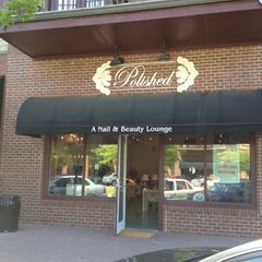 Photo taken at Polished Beauty Lounge by SooFab on 4/28/2012
