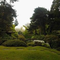 Photo taken at Tatton Park Japanese Garden by Jonathan N. on 5/19/2012