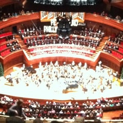 Photo taken at Kimmel Center for the Performing Arts by Paul T. on 12/17/2011