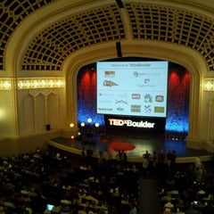 Photo taken at Macky Auditorium by Mark W. on 9/24/2011