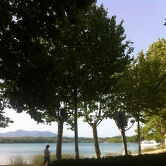 Photo taken at Mirallac Hotel Banyoles by Albert S. on 8/18/2012