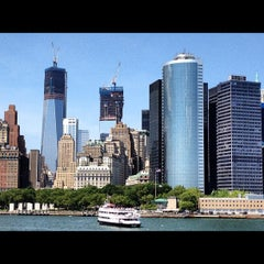 Photo taken at Staten Island Ferry Boat - Spirit Of America by Jim B. on 6/30/2012