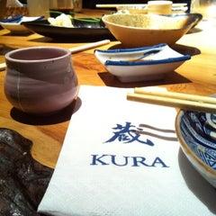 Photo taken at Kura by Anthea W. on 5/27/2011